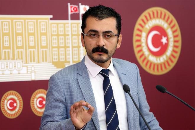 CHP'li Eren Erdem Sarıyer Manşet'in haberlerini TBMM'ye taşıdı!