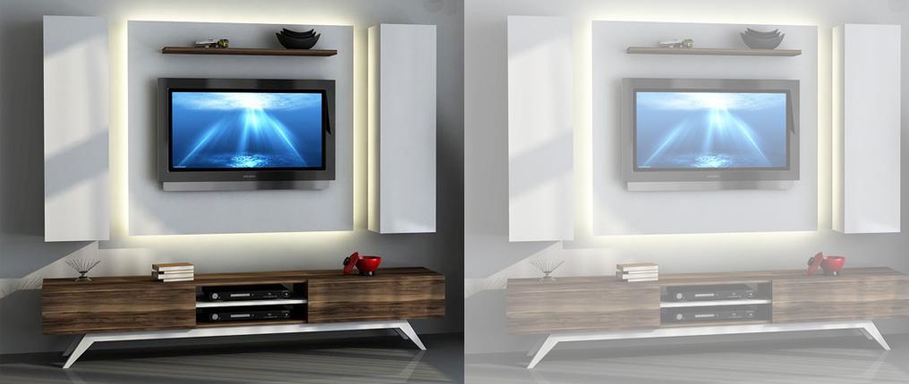 Evinizin Vazgeçilmezi Olmaya Aday Tasarımlarıyla TV Ünitesi