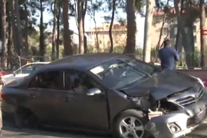 Erdoğan'ın konvoyu Maslak'ta kaza yaptı