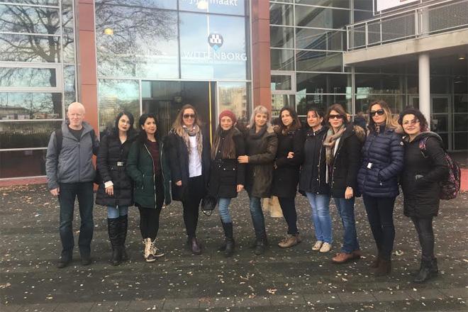 40 Öğretmen Erasmus Plus projesi kapsamında Almanya ve Hollanda'ya gitti