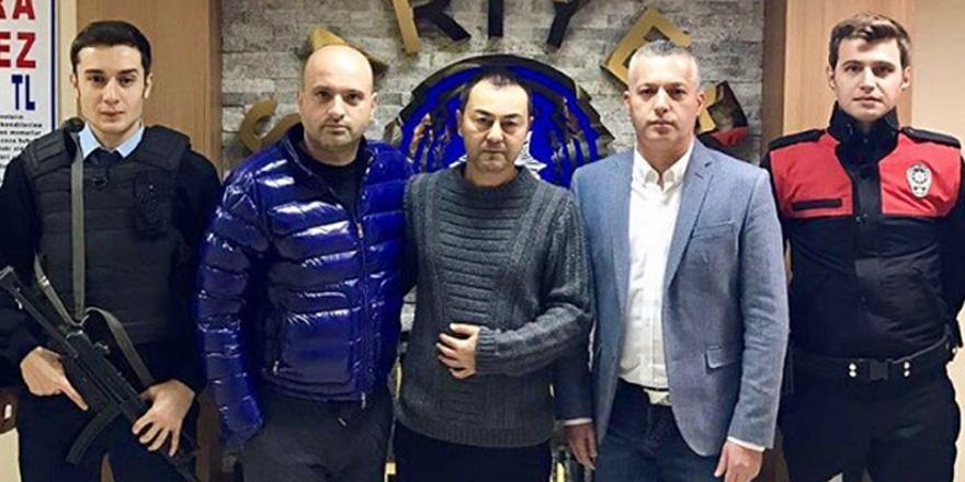Serdar Ortaç'tan Sarıyer Emniyetine destek ziyareti
