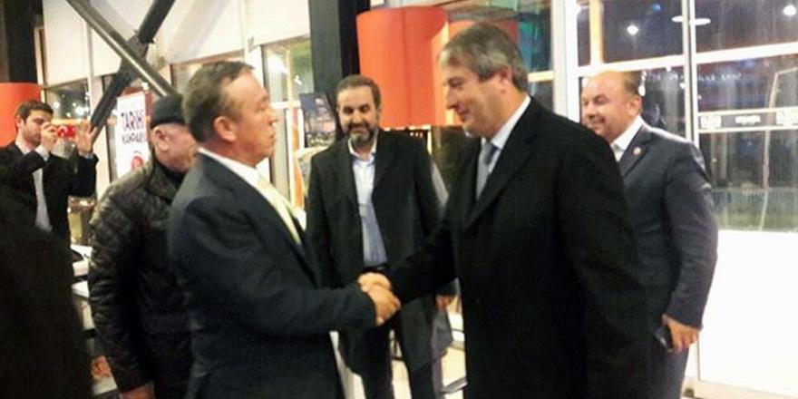 AK Parti, Ali Ağaoğlu ile buluştu