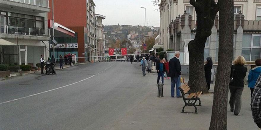 Sarıyer'de bomba alarmı! Giriş çıkışlar kapatıldı!