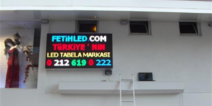Led tabela İstanbul