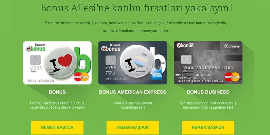 Bonus Kredi Kartı ile Stil Sahibi Olun