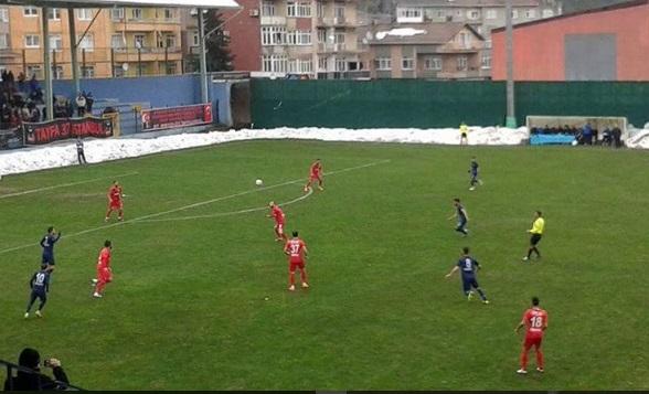 Sarıyer Kastamonuspor'la berabere kaldı