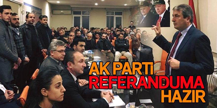 AK Parti Sarıyer'de referanduma hazır