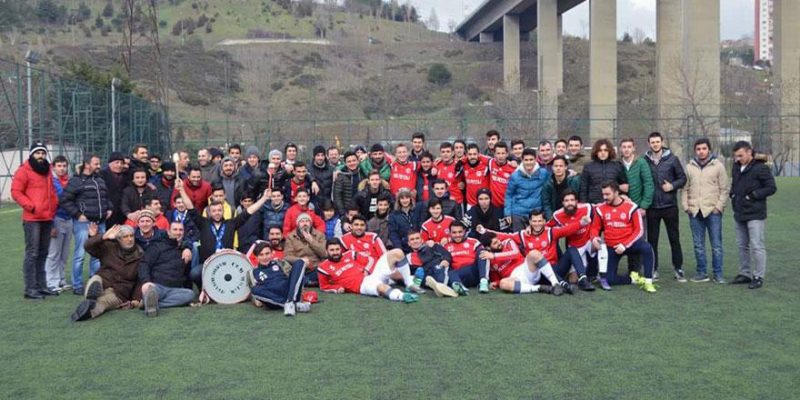 37 maçtır yenilmeyen Kilyosspor şampiyon oldu