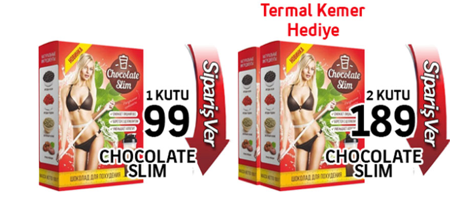 Çikolata slim zararlı mı?