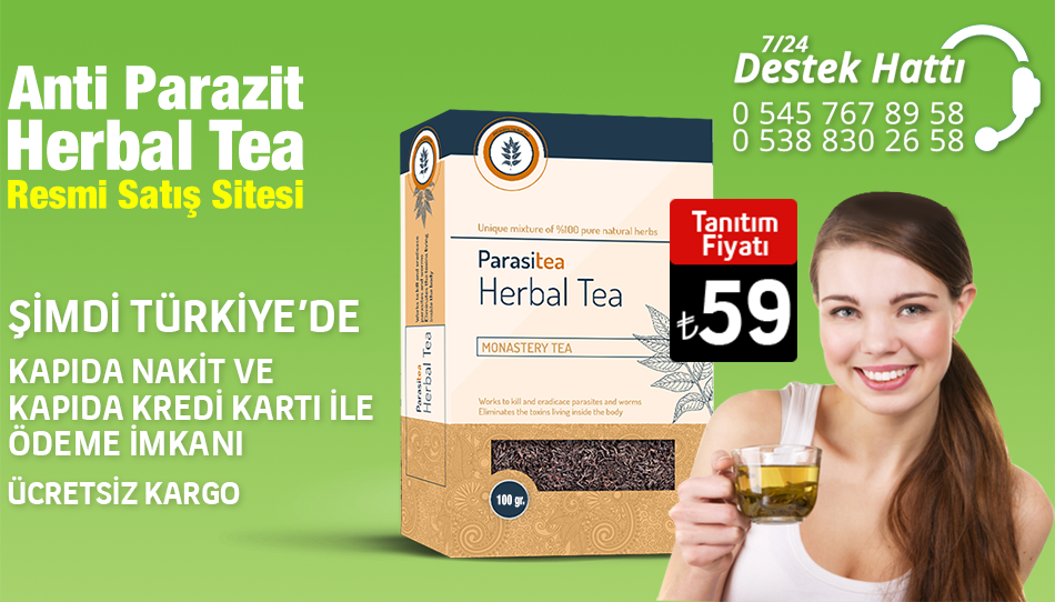 Herbal tea anti parazit çayı