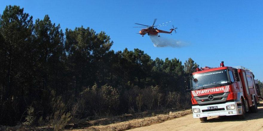 Kilyos'ta orman yangını