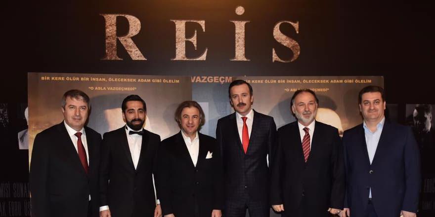 """""""Reis'in galası Sarıyer'de yapıldı"""