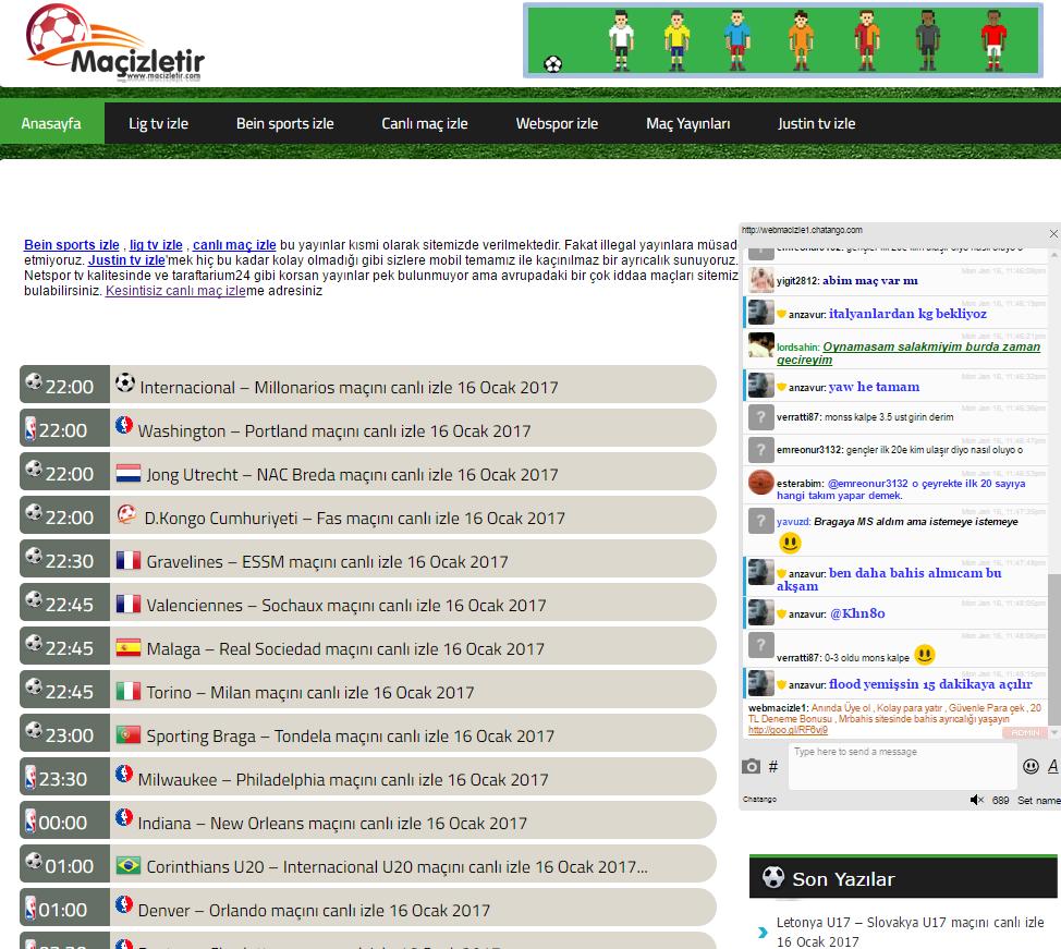 Fransa Ligi Maç İzle