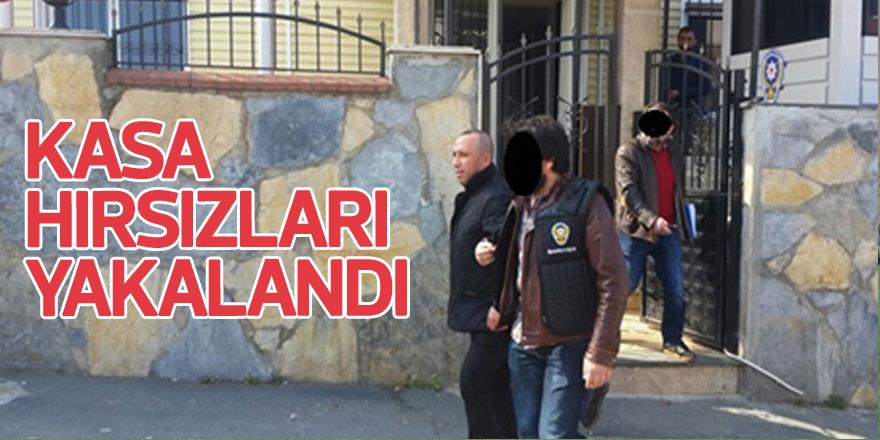 Bahçeköy'deki kasa hırsızları yakalandı