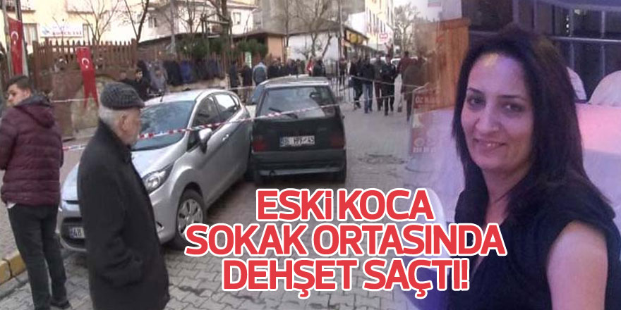 Sarıyer Bahçeköy'de sokak ortasında eski kocası tarafından öldürüldü!