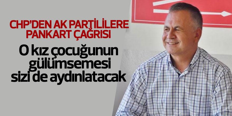 CHP'den AK Partililere pankart çağrısı