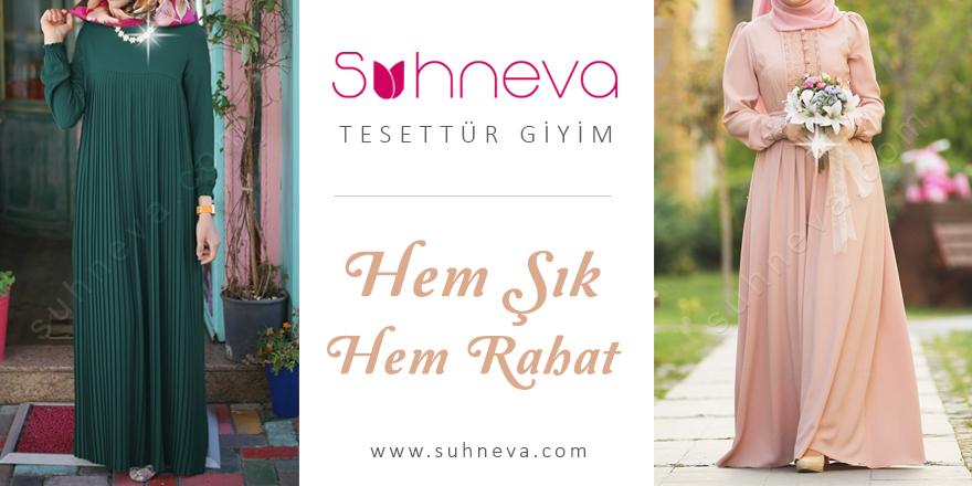 En Şık Tesettür Giyim Ürünleri Suhneva.com ile Kapınızda