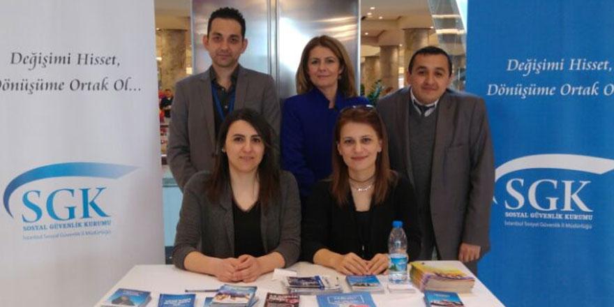 SGK, İstinye Park'ta bilgilendirme standı açtı