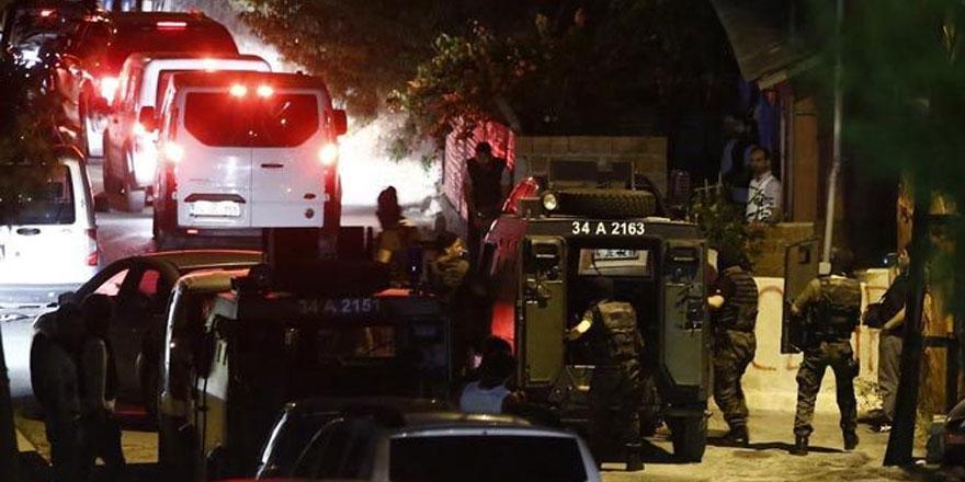 Sarıyer'de helikopter destekli terör operasyonu