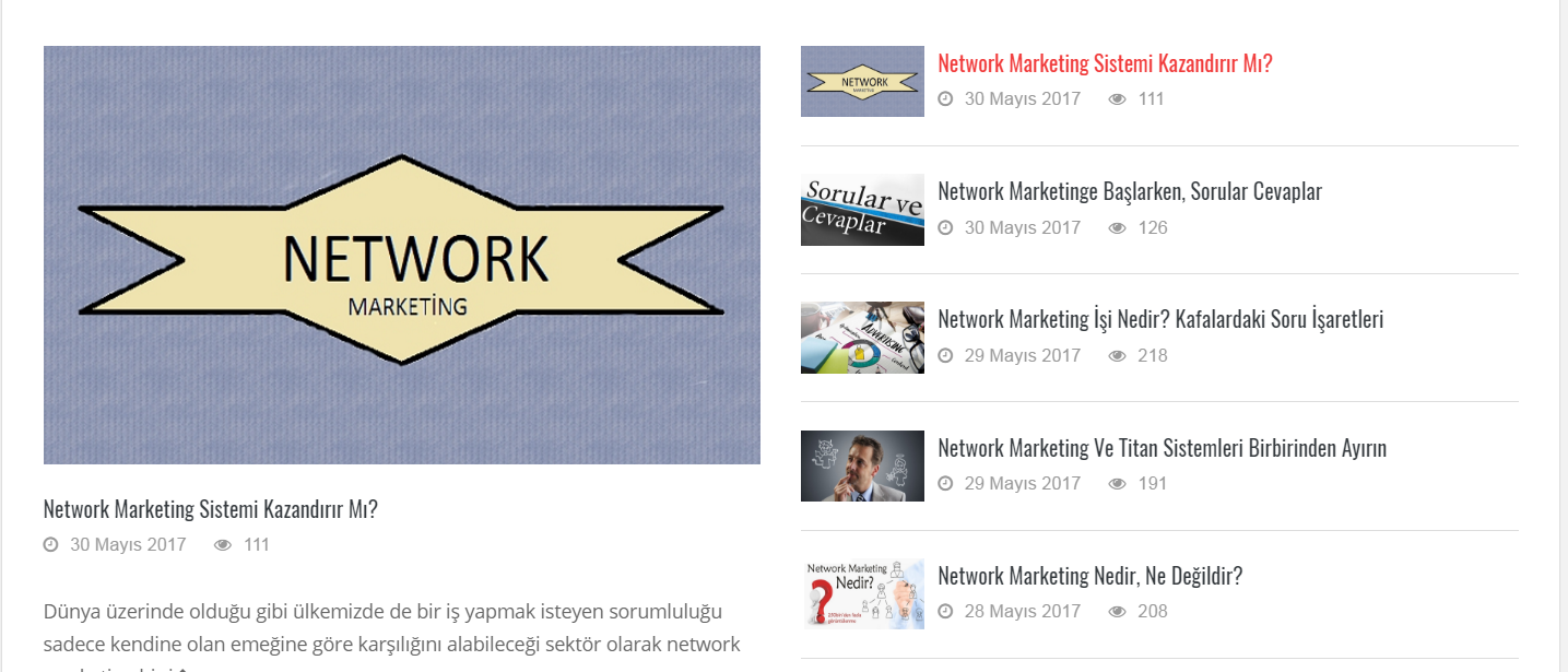 Network Marketing Sistemi Başarılı Olma Yöntemleri Nelerdir?
