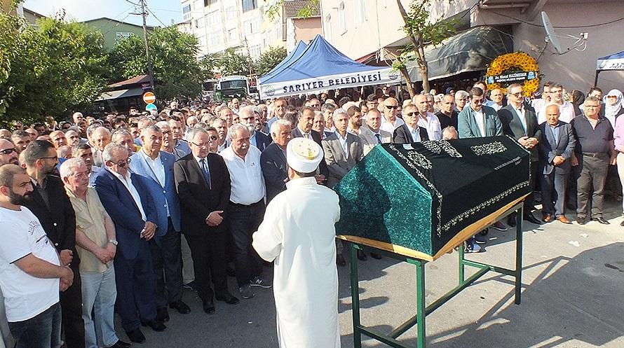 Avni Sarıoğlu son yolculuğuna uğurlandı