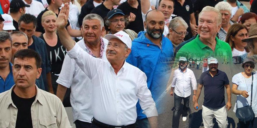 Adalet Yürüyüşü'ne Sarıyer'den büyük destek