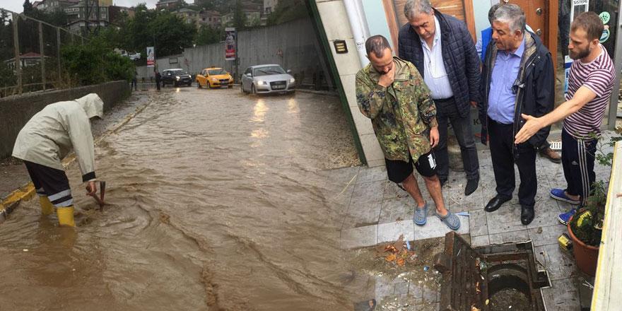 Sel en fazla İstinye'yi vurdu