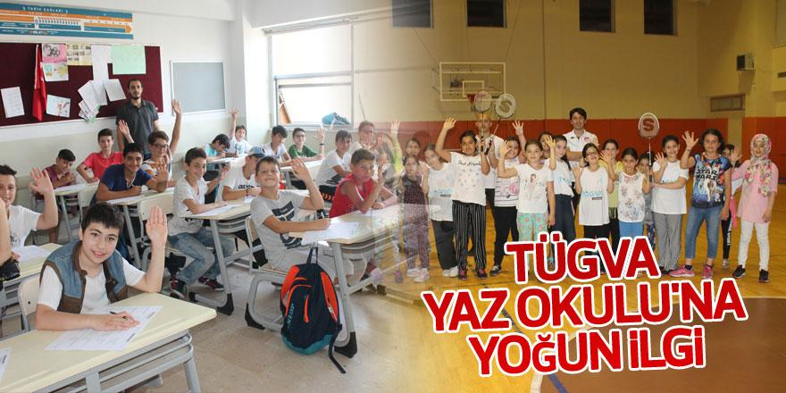 TÜGVA Yaz Okulu'na yoğun ilgi