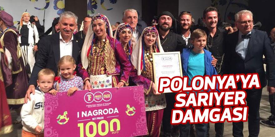 Polonya'ya Sarıyer damgası