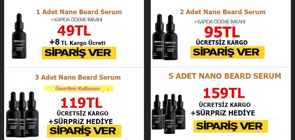 Erkeklerin Sırrı Nano Beard