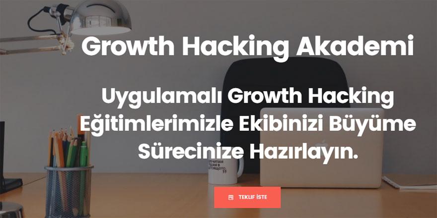 Growth Hacking Eğitiminde Adres: Growth Hacking Akademi