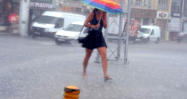 Dikkat! İstanbul'da şiddetli yağış bekleniyor