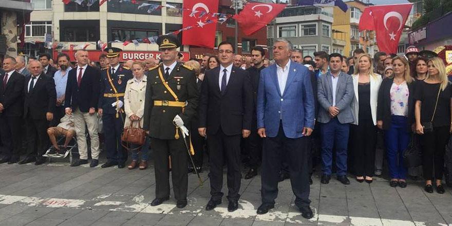 Sarıyer'de 30 Ağustos Zafer Bayramı kutlandı
