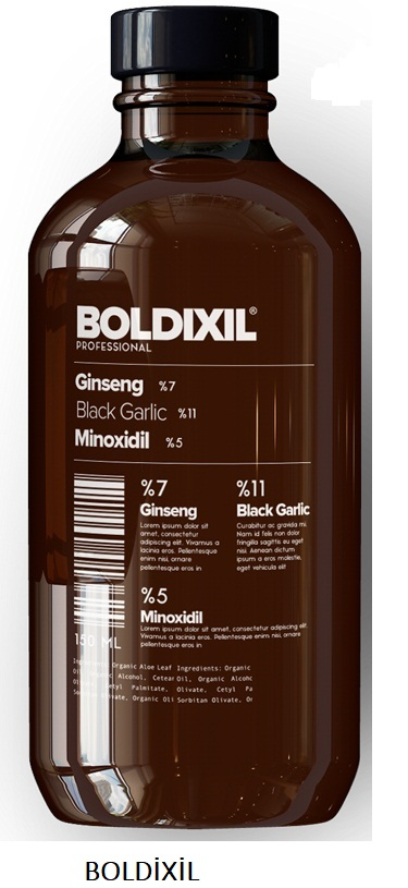 Boldixil Şampuan Kullanımı