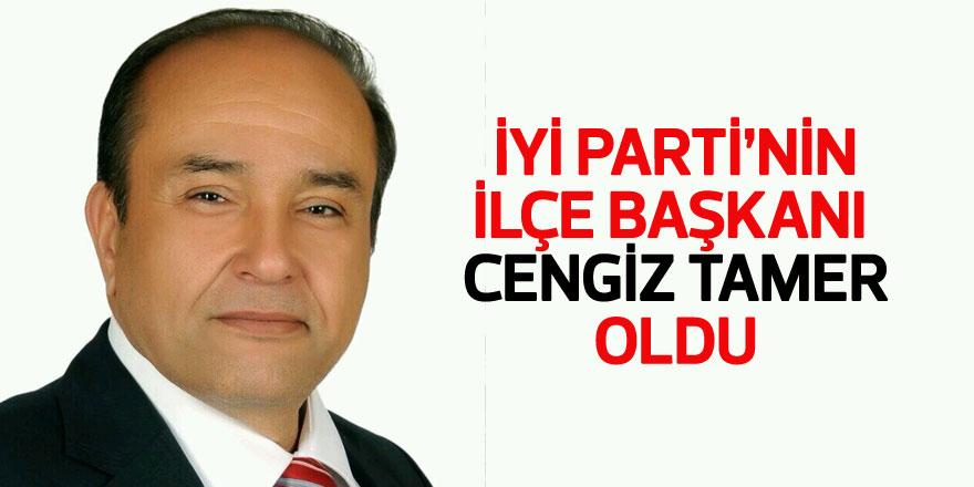 İYİ Parti Sarıyer İlçe Başkanı Op. Dr. Cengiz Tamer oldu