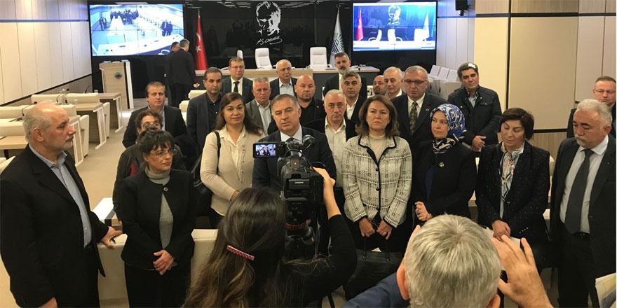 Belediye Meclisi'nden ortak Kudüs tepkisi