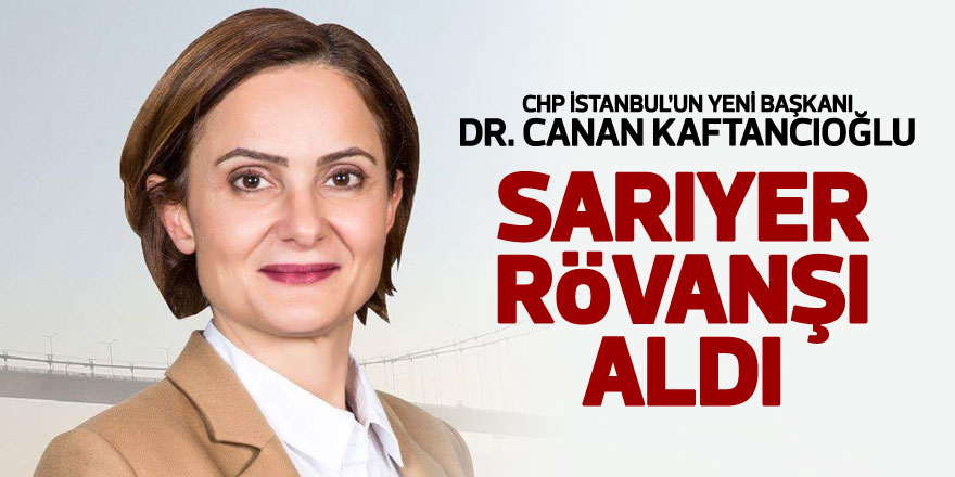 CHP İstanbul İl Başkanlığı'na Canan Kaftancıoğlu seçildi