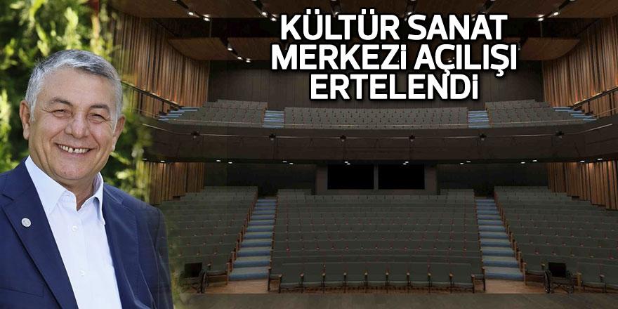 Boğaziçi Kültür Sanat Merkezi'nin açılışı ertelendi