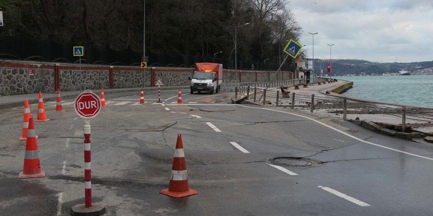 Tarabya - Yeniköy arası trafiğe kapatıldı!