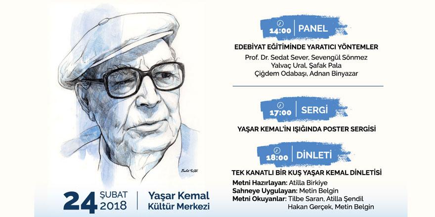 Yaşar Kemal Sarıyer'de anılacak