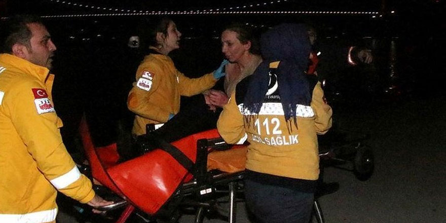 Sarıyer'de denize atlayan kadın son anda kurtarıldı