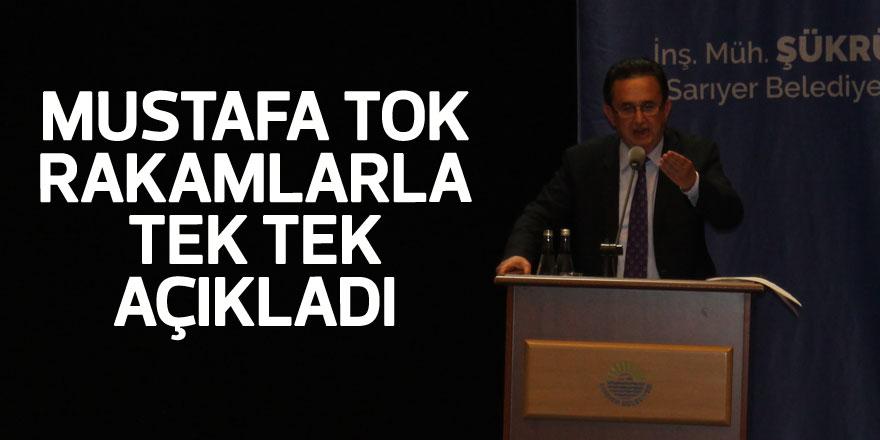 Mustafa Tok rakamlarla tek tek açıkladı