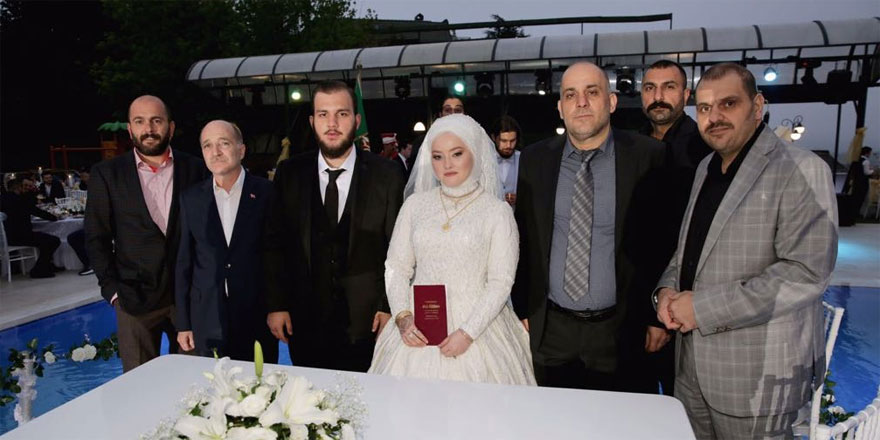 İşadamı Ali Demirhan'ın mutlu günü