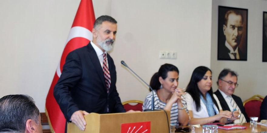 Nadir Günday, Büyükşehir'deki ilk meclis toplantısına katıldı