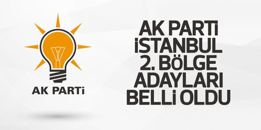 AK Parti İstanbul 2. Bölge Milletvekili Adayları