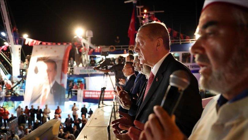 Erdoğan Sarıyer'de balık av sezonunun açılışına katıldı
