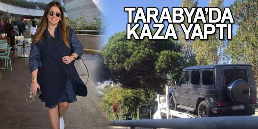 Buse Terim Tarabya'da kaza yaptı
