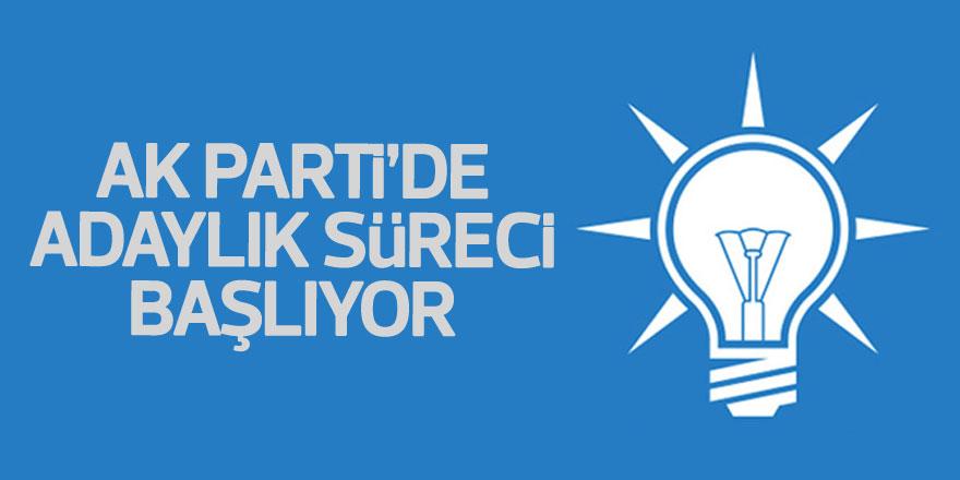 AK Parti'de adaylık süreci başlıyor