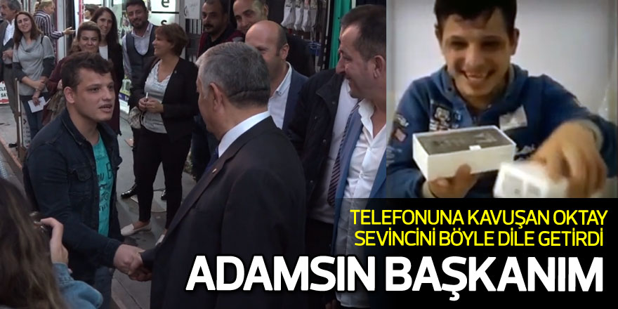 Telefonuna kavuşan Oktay sevincini böyle dile getirdi: 'Adamsın Başkanım'
