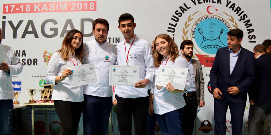 Sarıyerli öğrenciler iki yarışmada derece aldı
